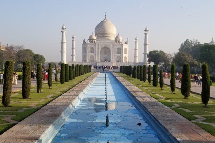 On Location - Taj Mahal, India