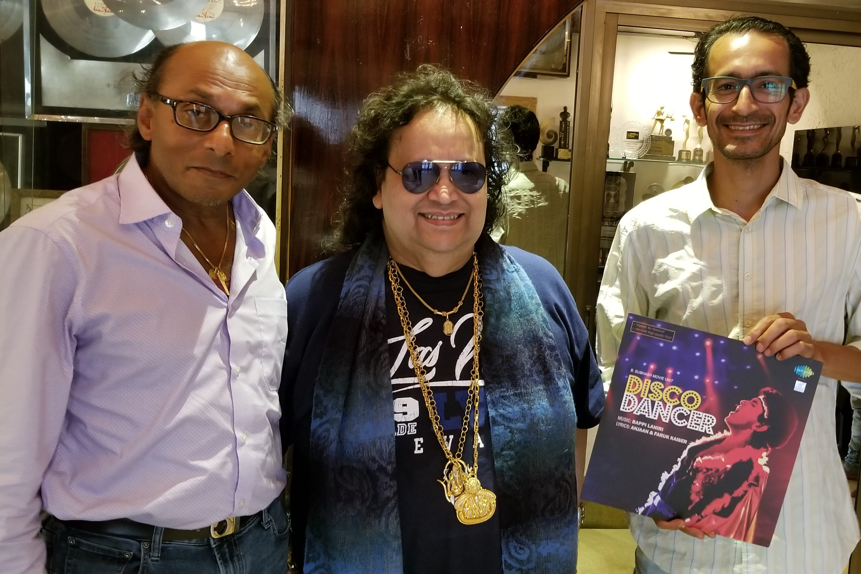 With Bappi Lahiri - Mumbai, India