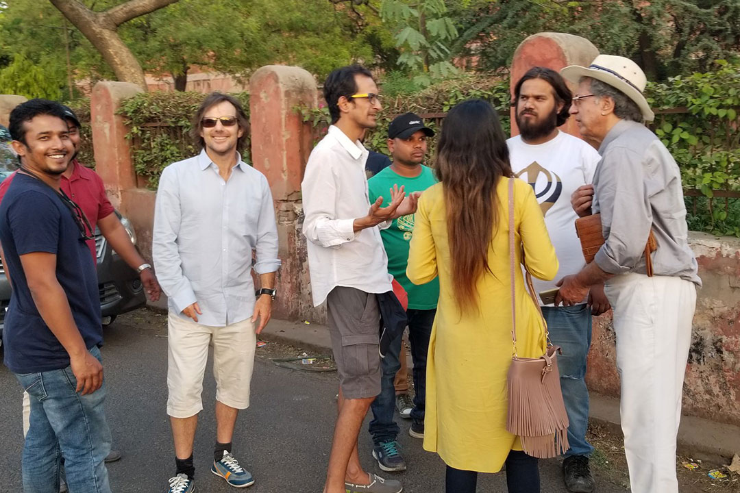 On Location - Agra Fort Station, Agra, India