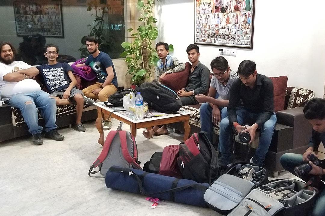 On Location - Agra, India