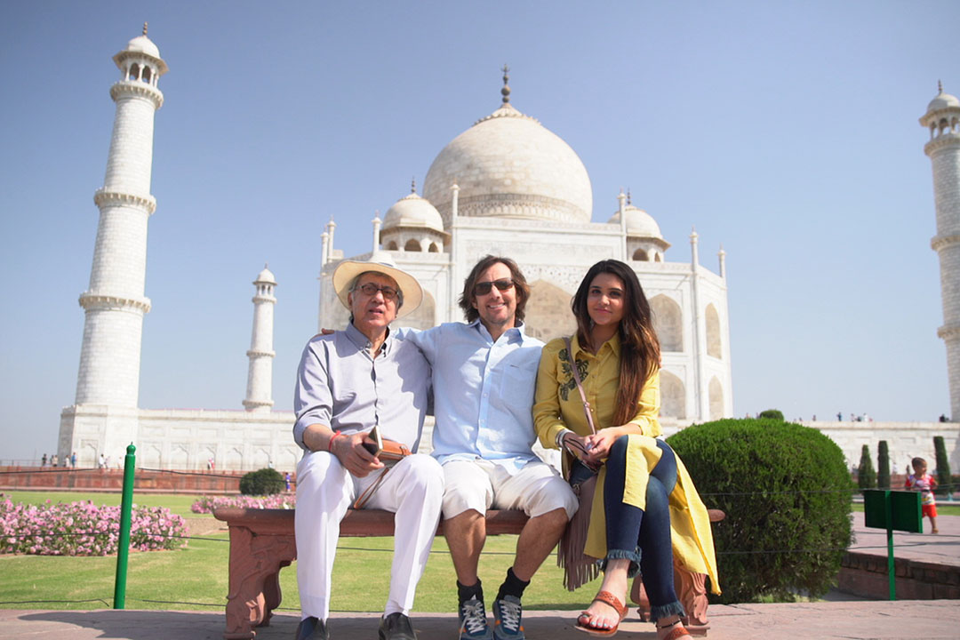On Location - Taj Mahal, Agra, India